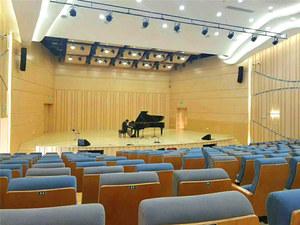 钢琴汇演室